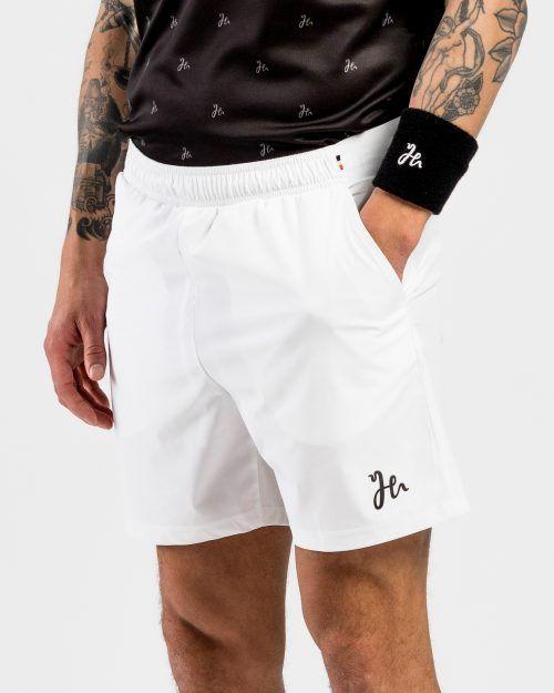 Classic Performance Padel Shorts White Sida