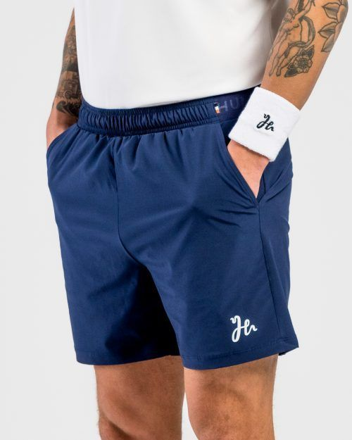 Classic Performance Padel Shorts Blue side