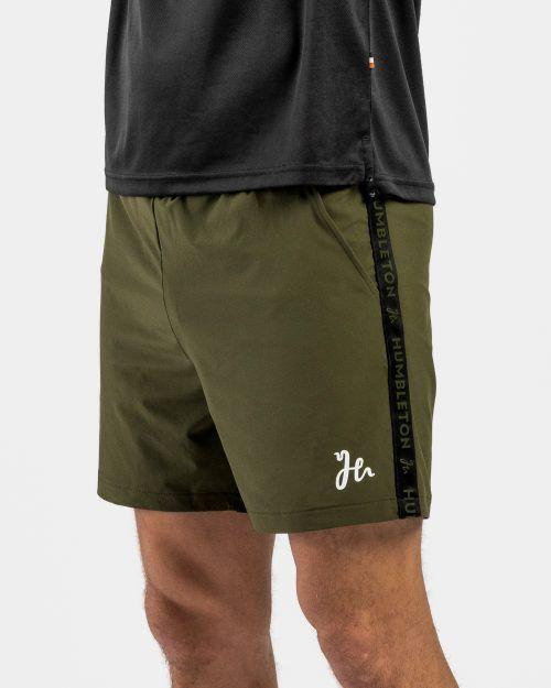 Deco Padel Tshirt Militärgrön fram
