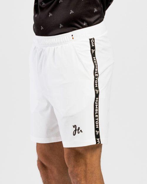 Deco Padel Shorts White - fram