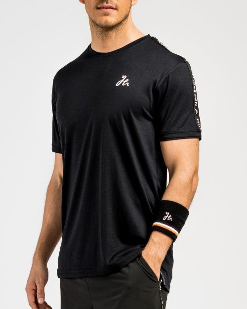 Deco Padel Tshirt svart framsida