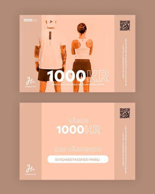 Presentkort för padel
