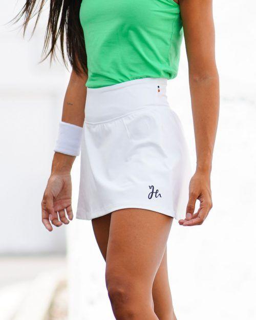 Skyla High Waist Skirt, Padelkjol med hög midja