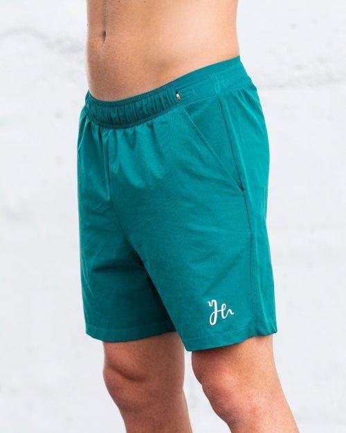 Padel shorts i Teal Green - Stryker Humbleton