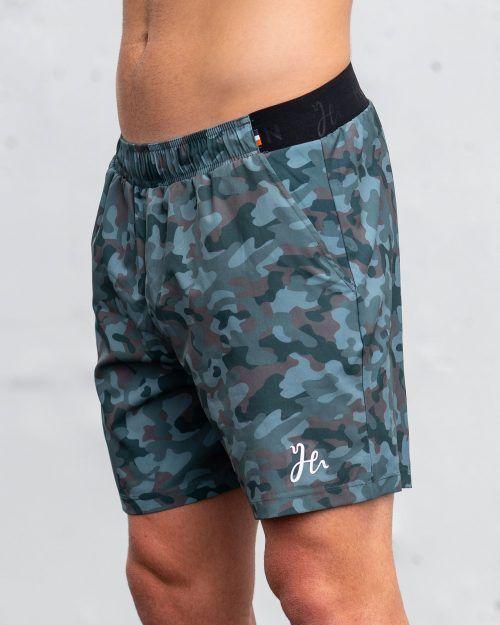Padel shorts i camo - Stryker Humbleton